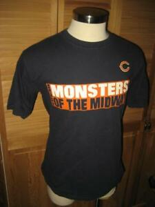 3a9920408 Image is loading Monsters-of-the-Midway-Chicago-Bears-Navy-Blue-