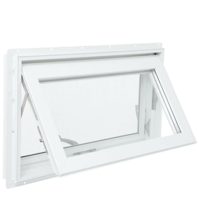 TAFCO WINDOWS 32 in. x 16 in. Awning Vinyl Window with ...