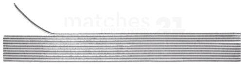 Bandes Cire Bougies verzierwachs rundstreifen 12 pcs 200x2 mm or ou argent
