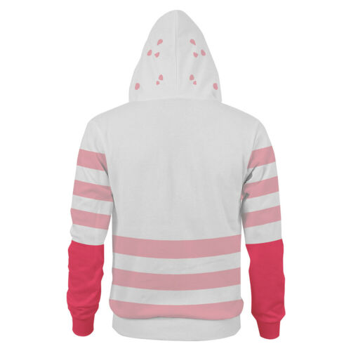 Hazbin Hotel ANGLE Hoodie Cosplay Pullover Sweatshirt Zipper up Jacket Coat Gift