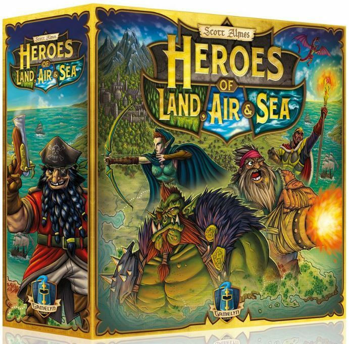 Heroes of Land Air and Sea - Strategy Board Game