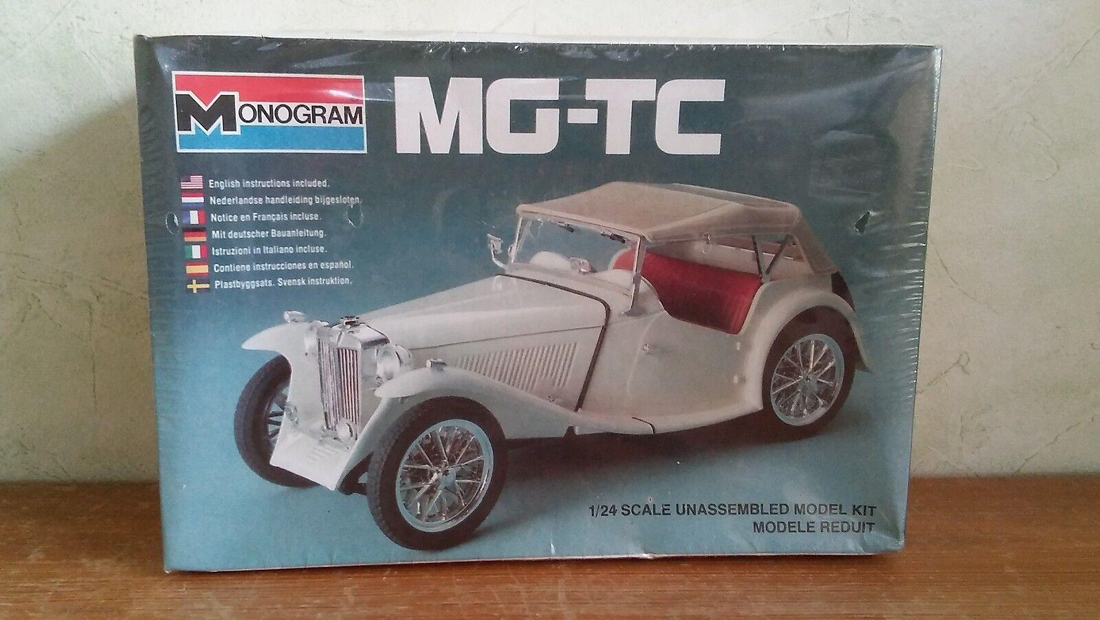 MONOGRAM Bausatz - MG-TC ungeöffnet in OVP - 1982