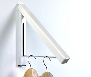 Image Is Loading Magic Fold Away Coat Hanger Wall Mounted Clothes