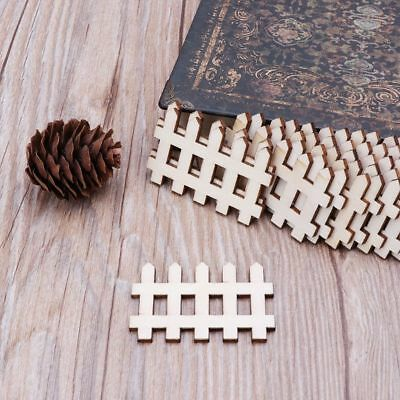 10pcs Laser Cut Wooden English Number Embellishment Wooden Shape Wedding Decor