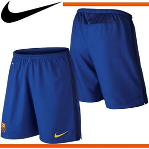 NIKE FCB TO SHORT TROUSERS OFFICIAL FC BARCELONA 2016 BARCA AWAY ... 85ece1fbe9b