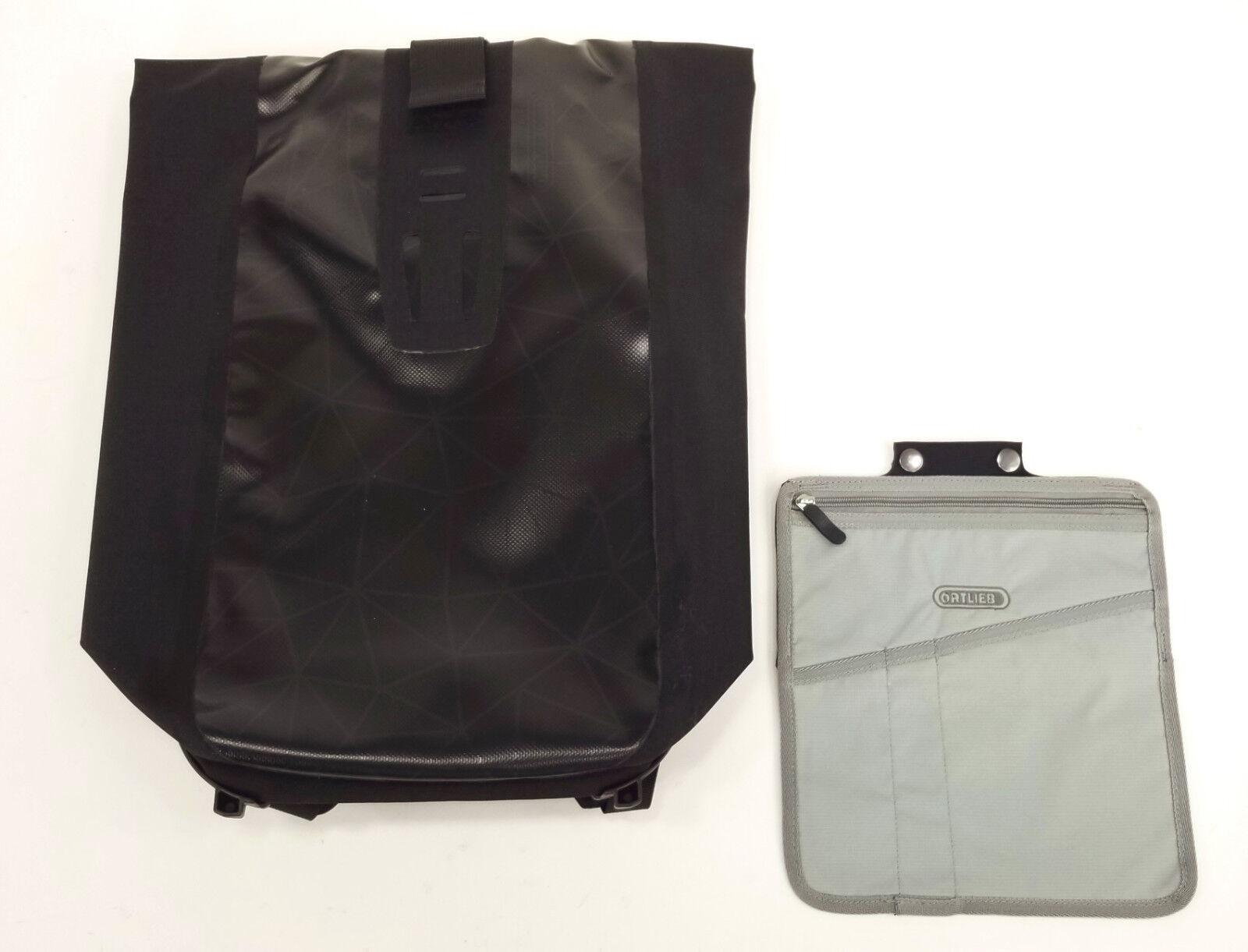 Ortlieb bolsas de mensajero Velocidad Velocidad Velocidad Mochila 24L, Impermeable, Design Negro 2c9d8f
