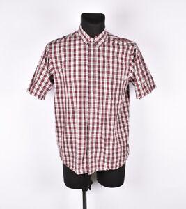 Carhartt-Unidad-Manga-Corta-Hombre-Camisa-Talla-L