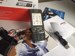 Nokia-E66-Stahlgrau-Ohne-Simlock-Neuwerttig-100-Original
