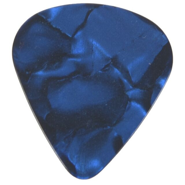 1X(20 pieces elegantes et colorees 0.71mm Guitar Picks Celluloid Mediators P RFV