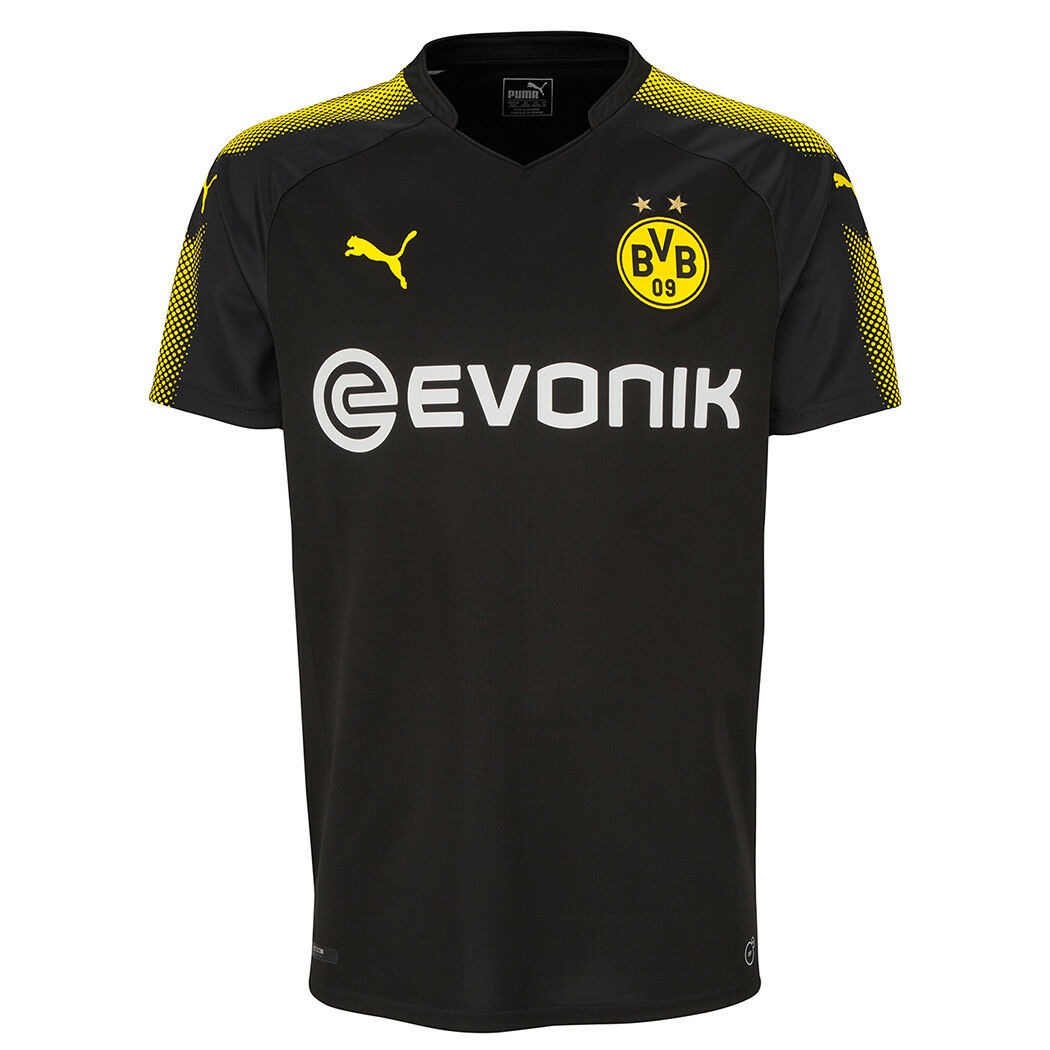 Puma BVB Borussia Dortmund Auswärtstrikot 2017/2018 751683-02 schwarz 751683-02 2017/2018 751672-02 82e335