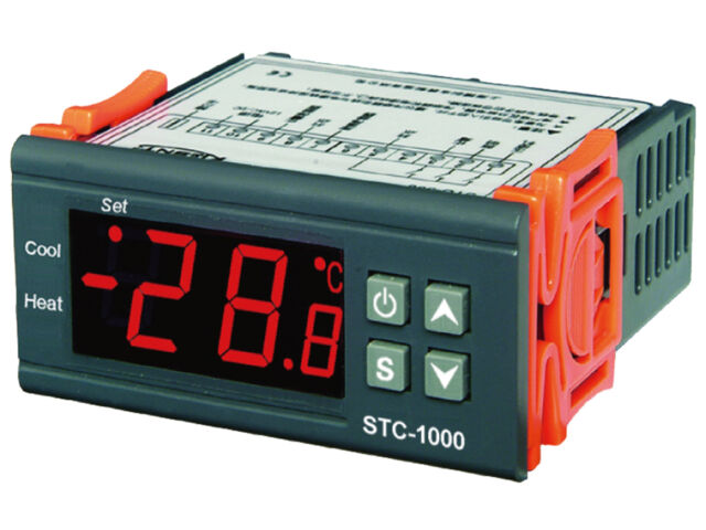 220V AC All-purpose Temperature Controller STC-1000 With 2M sensor