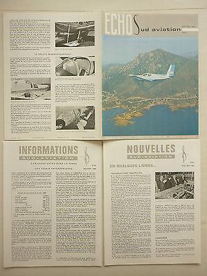 SATURNE 5 INTRADO REVUE AIR FRANCE 1971 N°8 CONCORDE AVIATION AERONAUTIQUE