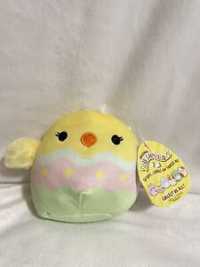 """NWT Squishmallows Aimee The Easter Chick 5"""" NEW 2021"""