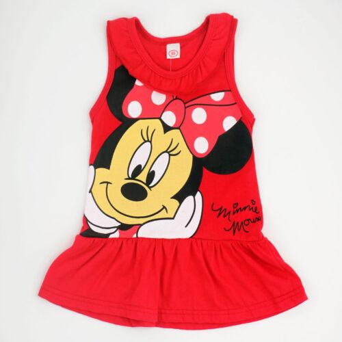 Kleinkind Mädchen Kinder Minnie Mouse Prinzessin Party Kleid Hochzeit Festkleid