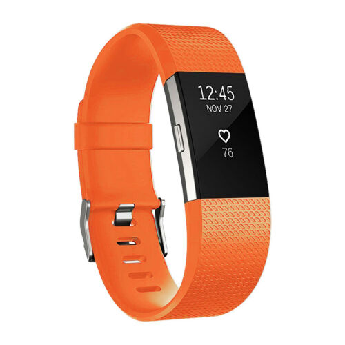 Soft Silicone Replacement Spare Wristband For Fitbit Charge 2 Strap