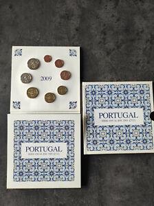 Coffret Euro BU Portugal 2009 INCM Neuf Officiel 3,88 euro Serie Anual BNC