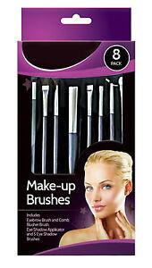 Glamorize-8-Pack-Make-up-Cosmetic-Brush-Set-Blusher-Eye-Shadow-Eyebrow-Comb
