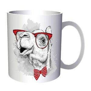 747e9f95df78 Image is loading Camel-With-Bowtie-And-Glasses-11oz-Mug-ee882