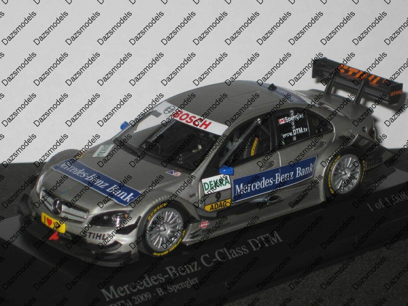 Minichamps Mercedes Classe C DTM 2009 B. Spengler  400 093909  en soldes