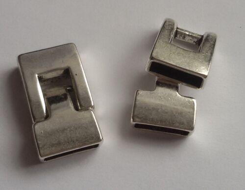 1//2//3 Hakenverschluss Rechteck Haken VerschlussParacord Armband V16