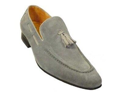 Men beige Tassel shoes moccasins Handmade Mens Fashion classic casual shoes