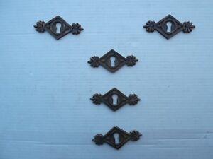Credenza Con Chiavi : Antica serie di 5 bocchette chiave bronzo x como credenza armadio