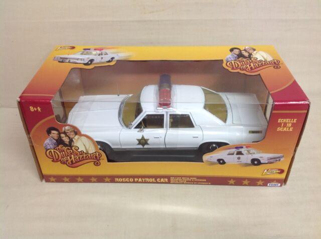 Johnny Lightning the Dukes of Hazzard 1977 Dodge Monaco State Police MOC 111045