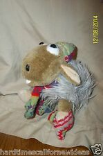 Lang's Wallace & Gromit Winter Sheep Plush With Mittens & Scarf 10""