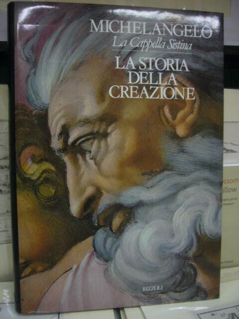 MICHELANGELO LA CAPPELLA SISTINA VOL. III: LA STORIA DELLA CREAZIONE