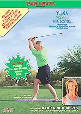 Yoga For Golfers Par Level Dvd 2007 For Sale Online Ebay