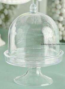 Mini-Plastic-Cake-Dome-Cake-Stand-18-in-Doll-Food-For-American-Girl