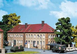 Faller-144043-Military-Sanitaetsstation-neu-OVP-Bundeswehr-Klinik