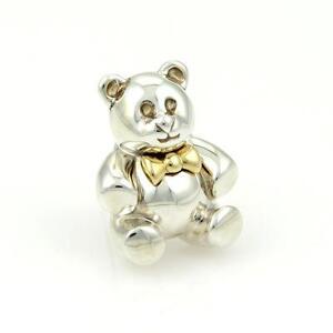 Tiffany &amp- Co Interlocking Circles 18ct Gold &amp- .925 Sterling Silver ...