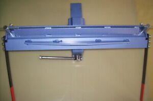 """Sheet metal bender 630mm (24.8"""") / 1.2mm bending folding machine manual tool"""