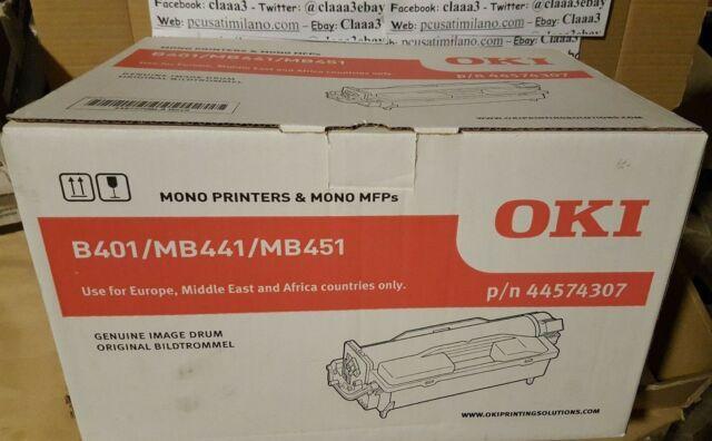 OKI B401/MB441/MB451 44574307 DRUM MONO PRINTERS & MONO MFPs originale