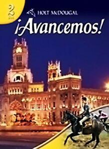 Avancemos-Level-2-by-Holt-McDougal-Hardcover