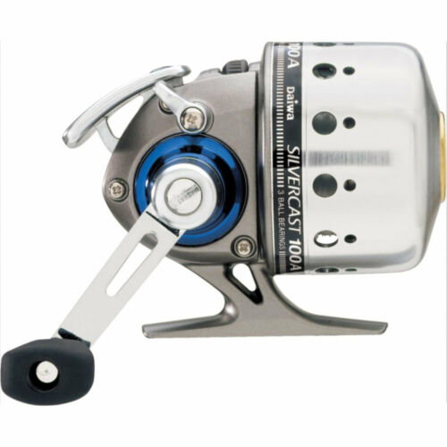 Daiwa Silvercast-A 100A 4.3:1 Spincast Left//Right Hand Fishing Reel SC100A