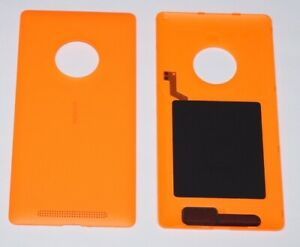 Original-Nokia-Lumia-830-Akkudeckel-Battery-Cover-NFC-Antenne-Orange