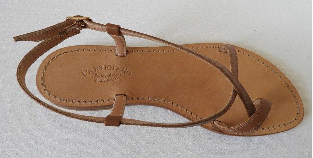 art. 62 - Sandali moda Capri, fatti a mano. L'Artigiano made in Italy