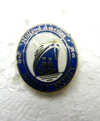 Holland America Lapel//Hat Pin ~ Dual Ships ~ New FREE Shipping!