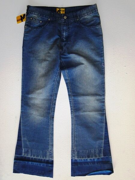 Screw Threads Sharon Jeans Hose blue Stonewashed W31 L32 NEU