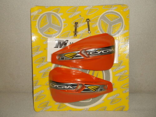 """Orange Replacement Shields for Cycra M2 /""""Spine MX/"""" Handshields for Dirt Bikes"""
