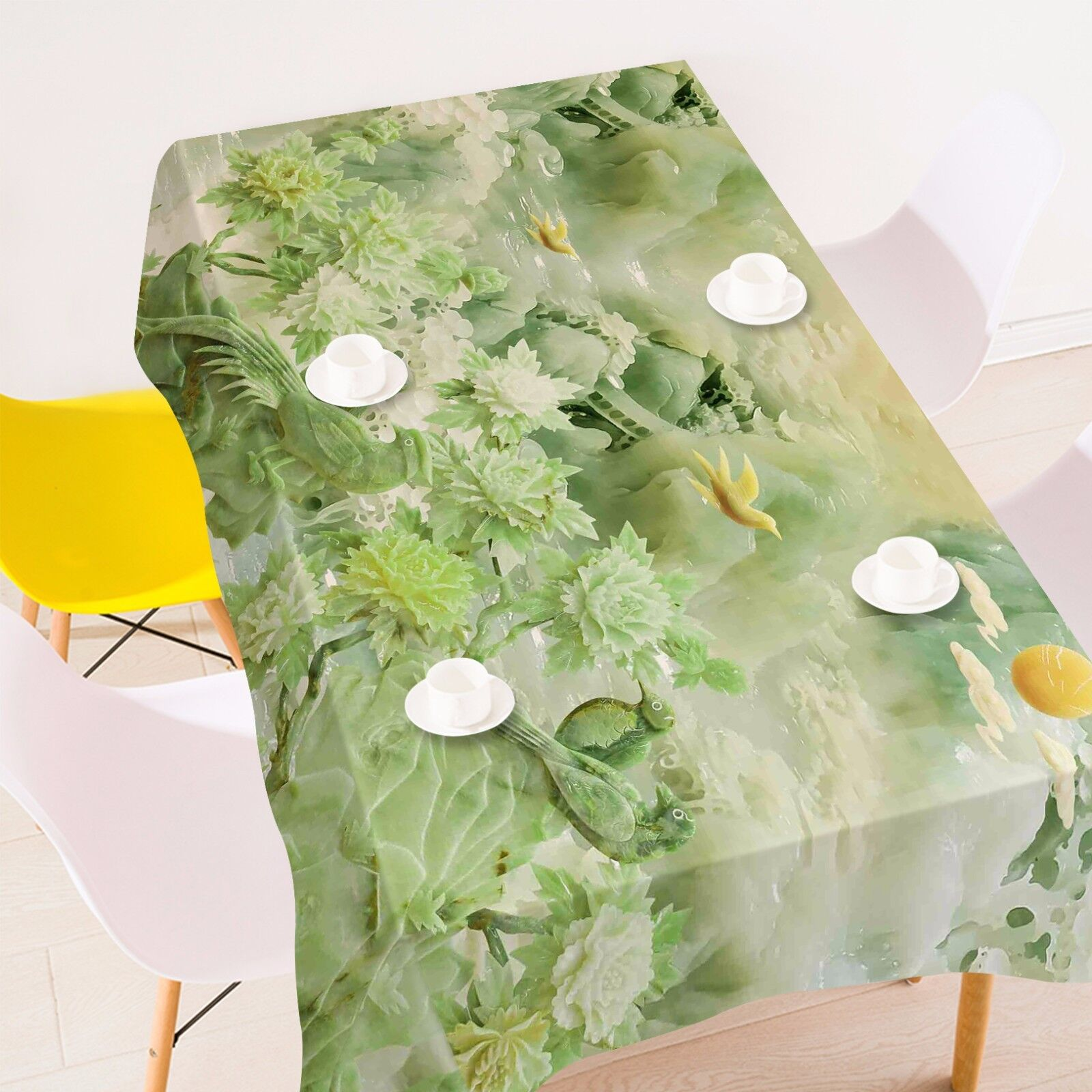 3D Grün 46 Tablecloth Table Cover Cloth Birthday Birthday Birthday Party AJ WALLPAPER UK Lemon 8184d7