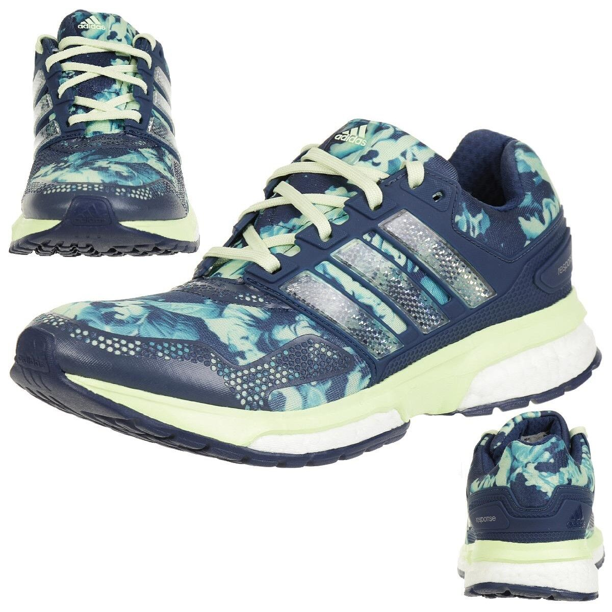 Adidas Response Boost 2 Graphic W Women Ladies Gym Training Running shoes