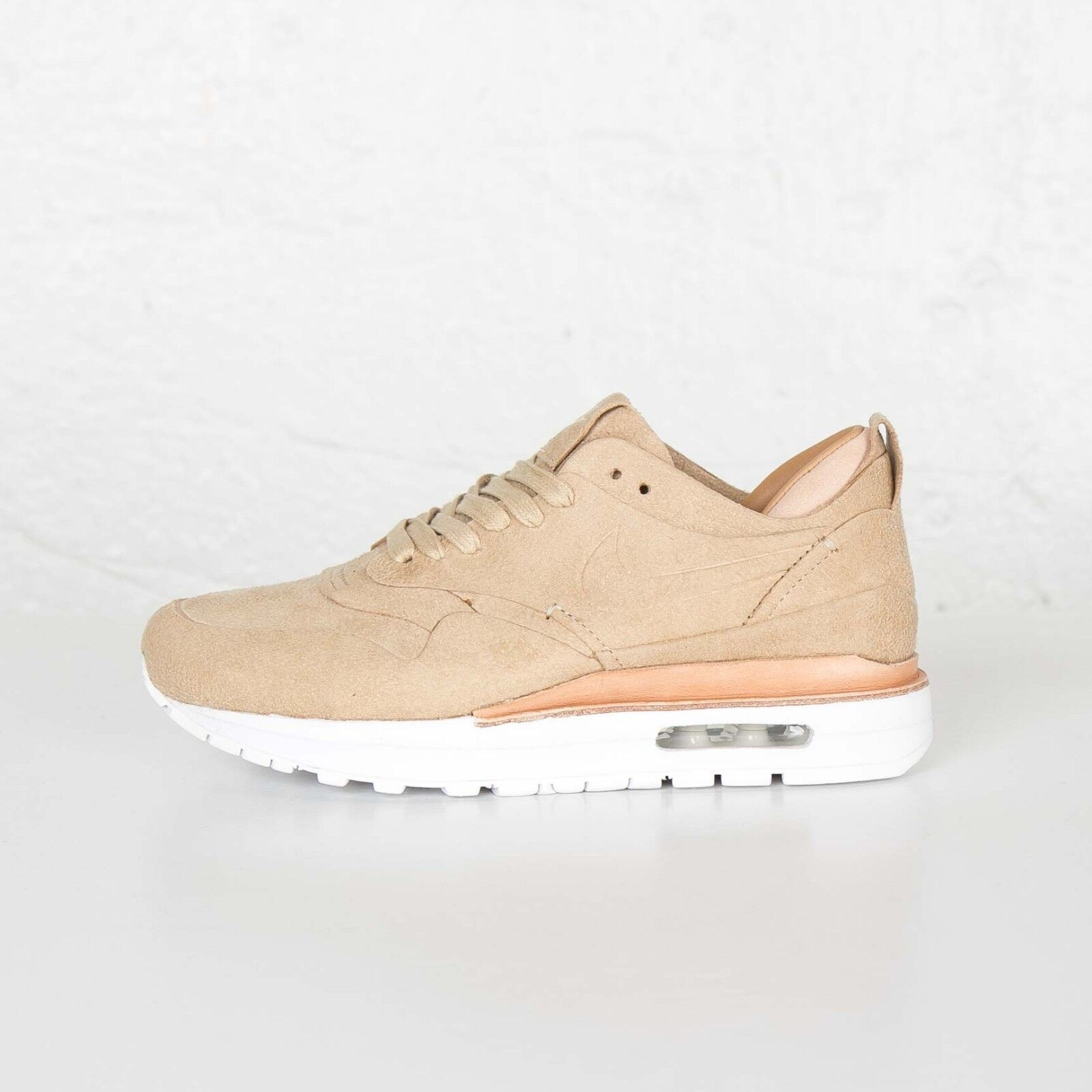 Nike Air Max 1 Royal Women's Shoes Linen White 525322 009