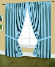 Editex Home Textiles Elaine Lined Pinch Pleated Valance Navy 48 by 18-Inch