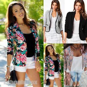 Women-039-s-Long-Sleeve-Blazers-Suit-Tops-Casual-OL-Office-Coat-Jacket-Slim-Outwear