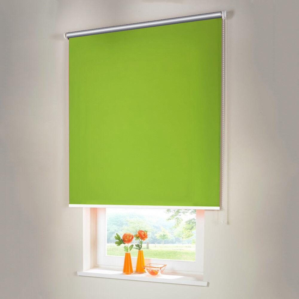 Oscuramento Thermo seitenzug kettenzug ROLLO-altezza 170 cm verde limone