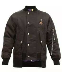 Details about NWT Authentic Limited Edition Moncler x Palm Angels Genius 8 Axl Bomber Jacket