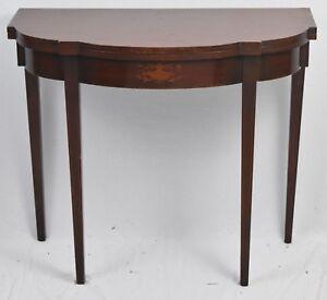 Charak-Furniture-Company-Bench-Made-Mahogany-Hepplewhite-Flip-Top-Game-Table